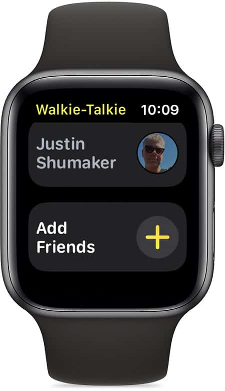 set up and use the Walkie-Talkie app
