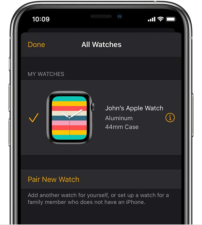 How to unpair your Apple Watch from your iPhone