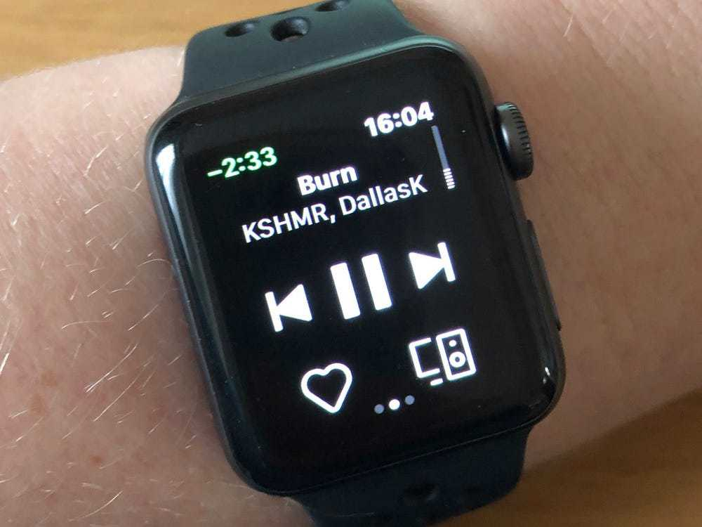 Listening to Spotify on Your Apple Watch