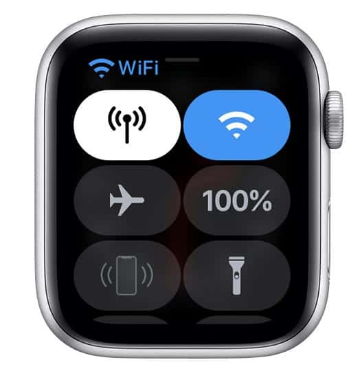 use an Apple Watch with a Wi-Fi connection