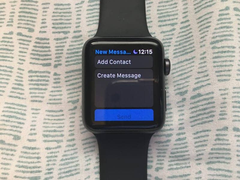 How to Text on the Apple Watch