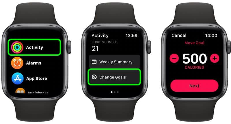 How to Set and Change the Activity Goals on Your Apple Watch