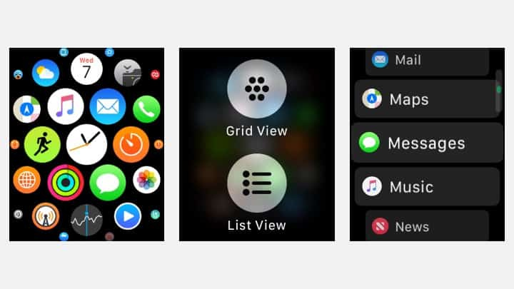 How to Change your Apple Watch App Layout