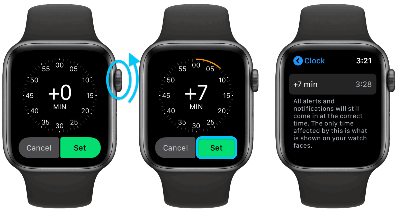 How to Set the Time on an Apple Watch Manually