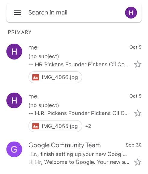 How to find Spam on Gmail mobile