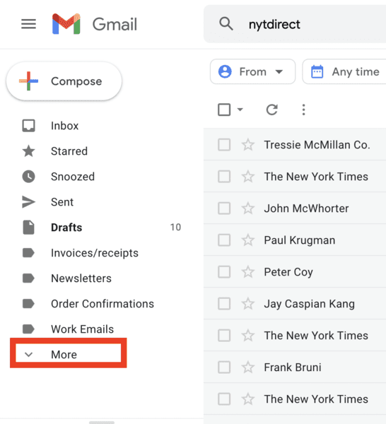 how to find spam folder in gmail