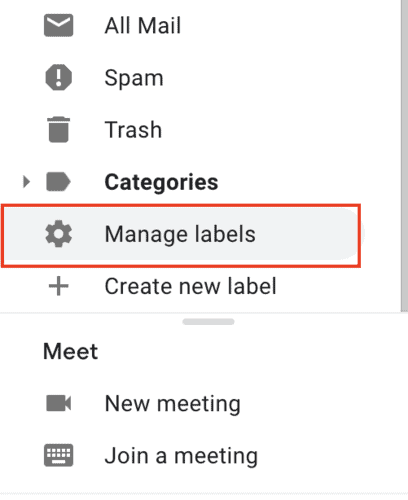how to show spam folder in gmail
